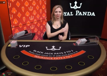 Royal Panda live casino is instant play and requires no lengthy or space-consuming downloads which make for easy and quick access.