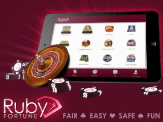 Ruby Fortune has a good range of casino games that will run on smartphones using Apple, Android or Windows. The software is still from Microgaming so it will work perfectly while keeping the nice design that Ruby brings to the world of mobile casinos.